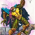 Turtles XTREME Kevin Eastmans Concept Art For Unmade 4th Turtle Movie