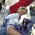 As Power Girl Returns To Her Classic Look  Worlds Finest #12 Brings Back The Boob Window