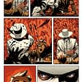 One Page Of Nick Dragottas Art From East Of West