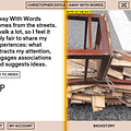 Cinematographer Christopher Doyle Releases An Interactive App Documenting His Street Photography