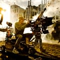 Behind The Scenes Image Of Bayhem On The Set Of Transformers 4