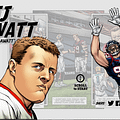 Christos Gage And Howard Porter Create NFL Digital Comics With Cam Newton And JJ Watt For DC And Gatorade