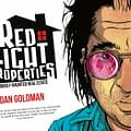 Digital Phenomenon Red Light Properties Comes To Print From IDW &#8211 Talking Glow-in-the-dark Spirits with Dan Goldman