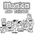 Monicas Gang To Become Monica And Friends In The USA