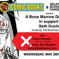 Delete Blood Cancer At JHU Comics Benefit For Seth Kushner + Signing