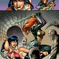 Exclusive First Look At Pages From Dawn/Vampirella By Joseph Michael Linsner