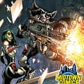 J Scott Campbells Rocket Raccoon #1&#8230 (COLOUR UPDATE)
