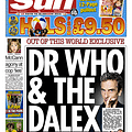 The Scottish Sun Splashes With Doctor Who Spoilers