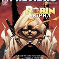Robin Rises And Cable Toy Take Previews Cover For October 2014
