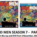 Mad Men Series 7 Part One And Mad Men 1-6 DVD Box Sets Up For Grabs
