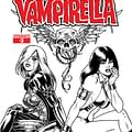 Exclusive First Look At Joseph Michael Linsners B&#038W Cover For Dawn/Vampirella #3