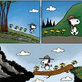 Peanuts #25 Has That Charles M. Shulz Feel