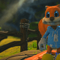 Watch The Beginning Of Conkers Bad Fur Day Made In Project Spark
