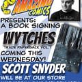 Scott Snyder And Wytches Vol. 1 Coming To Androids Comics In NY This Wednesday