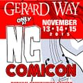 Gerard Way Comes To North Carolina In November