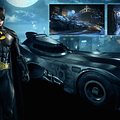 Play In Batman 1989 Costume And Batmobile In New Arkham Knight DLC