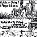 Jacques Tardi Objects To Israeli Occupation Of Paris With Cartoon