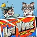 Tavis Maidens NYCC 2015 Grumpy Cat Exclusive Cover