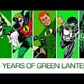 Green Lantern Through 75 Years