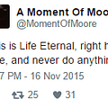 Alan Moores First Tweet