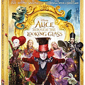 37 Minutes Of Extras On Alice Through The Looking Glass Blu-Ray / Digital