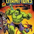 John Cassaday Pays Homage To Gil Kane With Champions #1 Cover