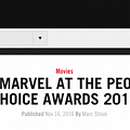 Marvel Wants You&#8230 To Vote In 2-Year-Old Peoples Choice Awards For Some Reason