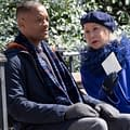 Helen Mirrens Angel Of Death Practices Tough Love With Will Smith In Collateral Beauty