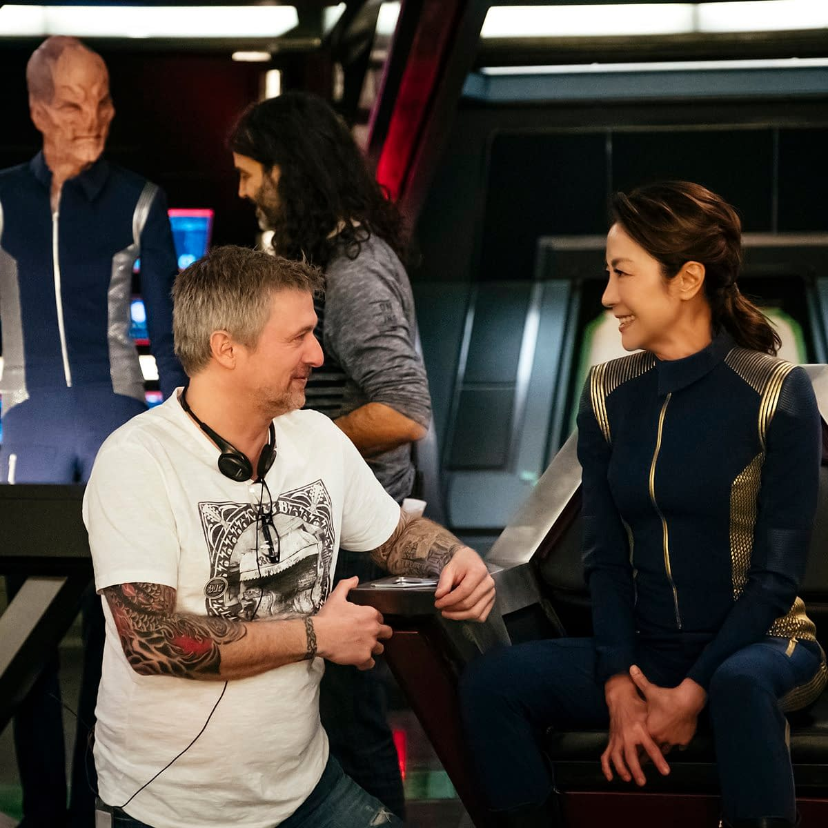 'Star Trek: Discovery' Shares 4 BTS Photos for World Photography Day