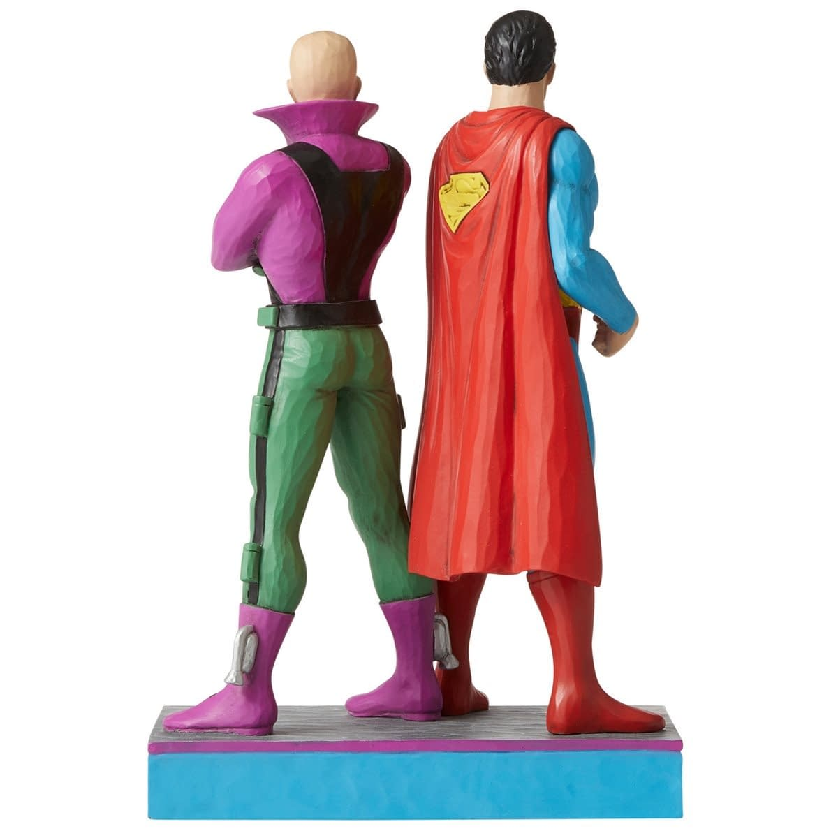 Superman and Lex Luthor Stand Side by Side with New Enesco Statue
