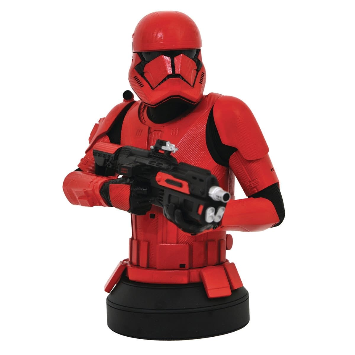 The Mandalorian and Sith Trooper Get Bust from Diamond Select Toys