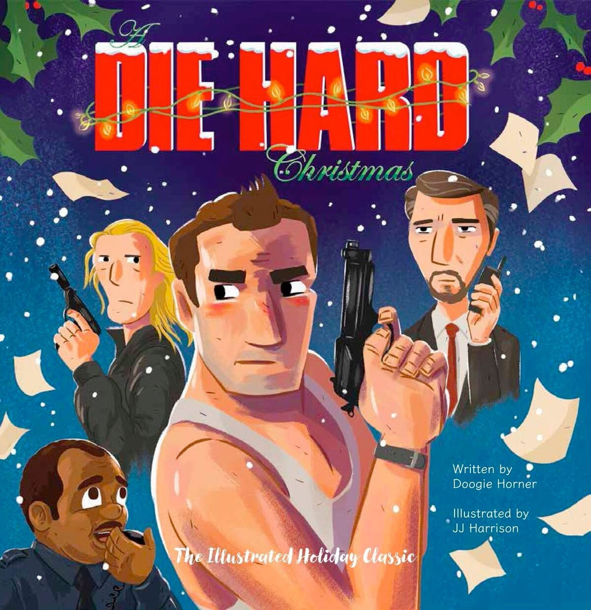 New Illustrated Book Proves Once And For All Die Hard Is A Christmas Movie