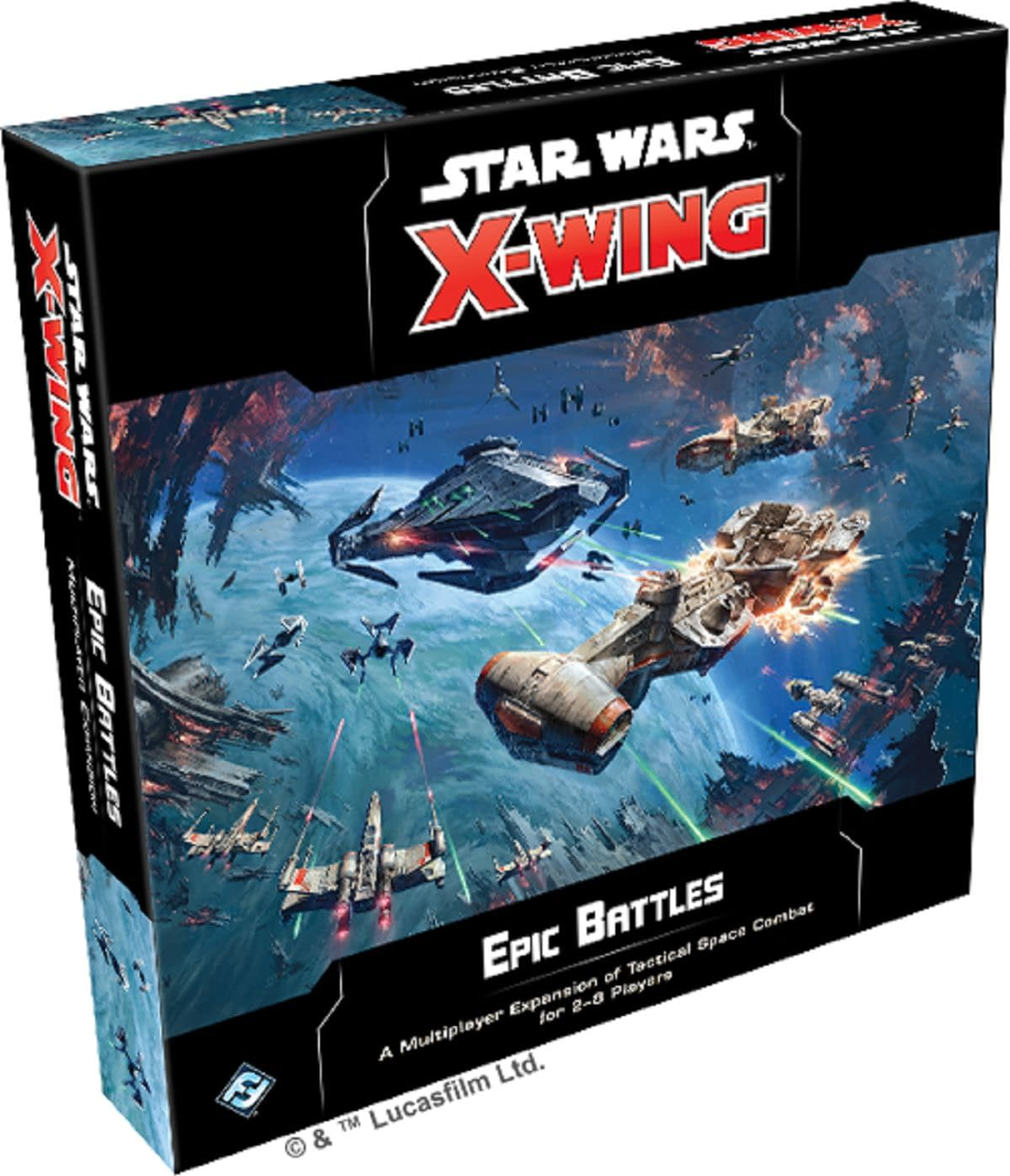 """""""Star Wars: X-Wing"""" Gets """"Epic Battles"""" Expansion from Fantasy Flight Games"""