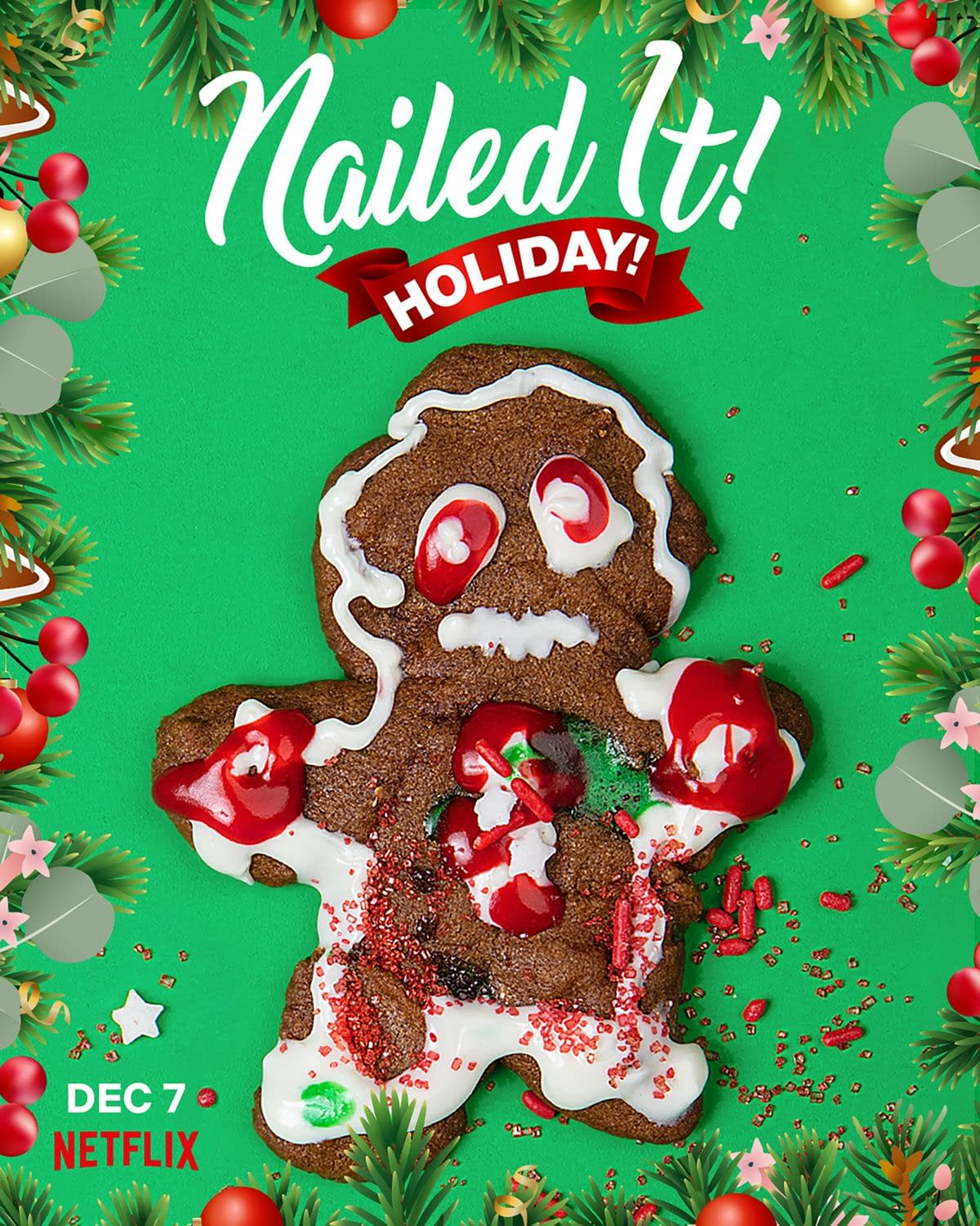 Nailed It! Holiday!: 'Tis the Season for Jesus Meatballs, Turkey Cakes and DIY Sweaters (BC REWIND)