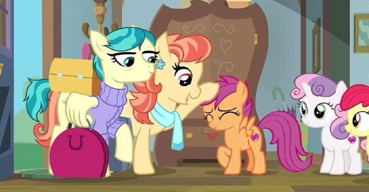 My Little Pony Friendship Is Magic Introduces Scootaloo S Lesbian Aunts Scootaloo has yet to master her flying. my little pony friendship is magic