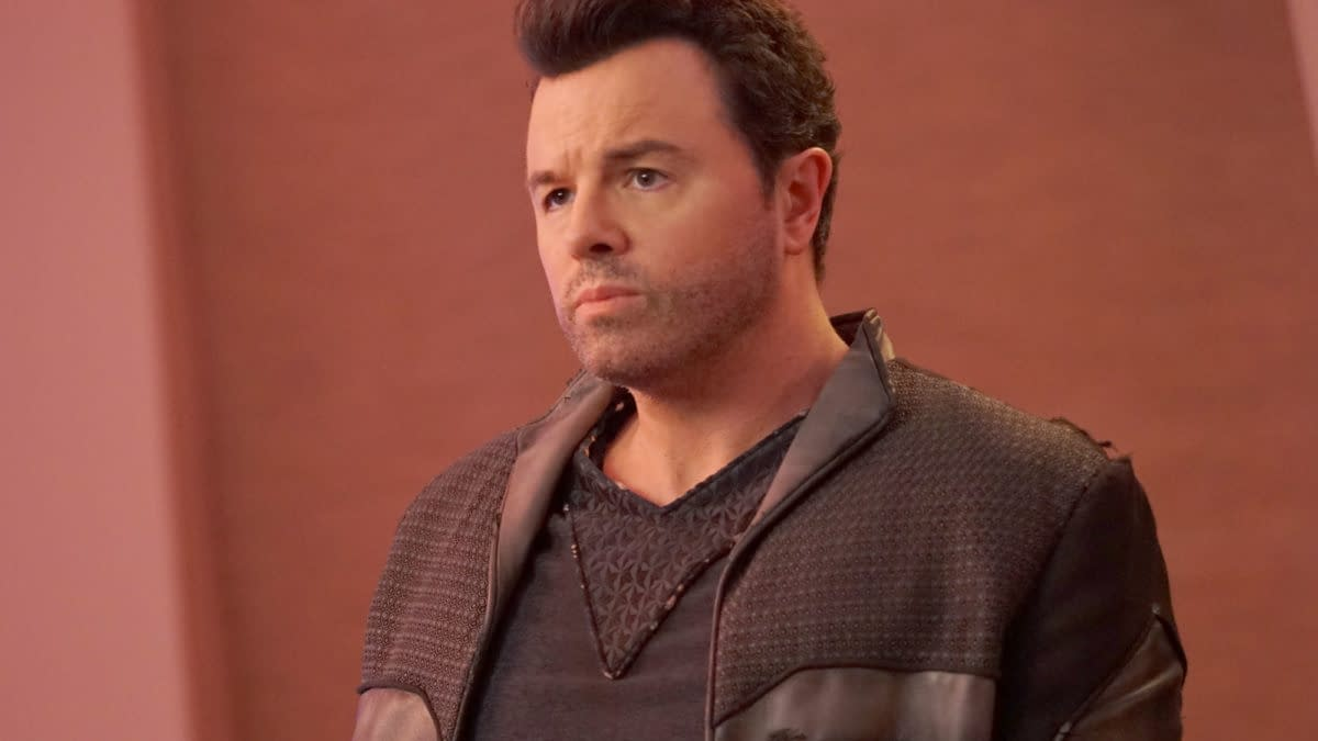 THE ORVILLE: Seth MacFarlane in the ÒRoad Not TakenÓ season finale episode of THE ORVILLE airing Thursday, April 18 (9:00-10:00 PM ET/PT) on FOX. ©2018 Fox Broadcasting Co. Cr: Kevin Estrada/FOX