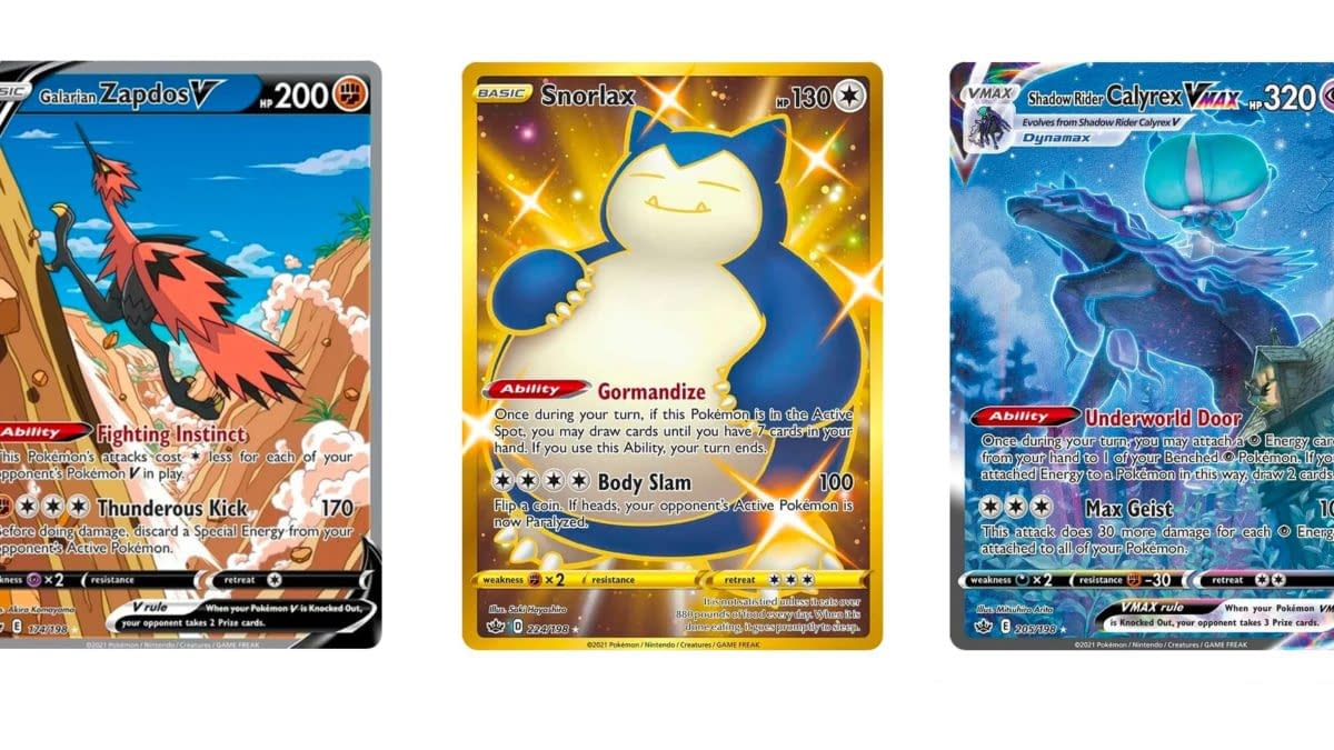 Top 10 Most Valuable Cards of Pokémon TCG: Chilling Reign: 5 – 1