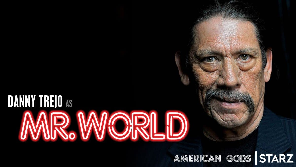 """""""American Gods"""": Danny Trejo, Julia Sweeney, Wale Join Season 3 Cast"""