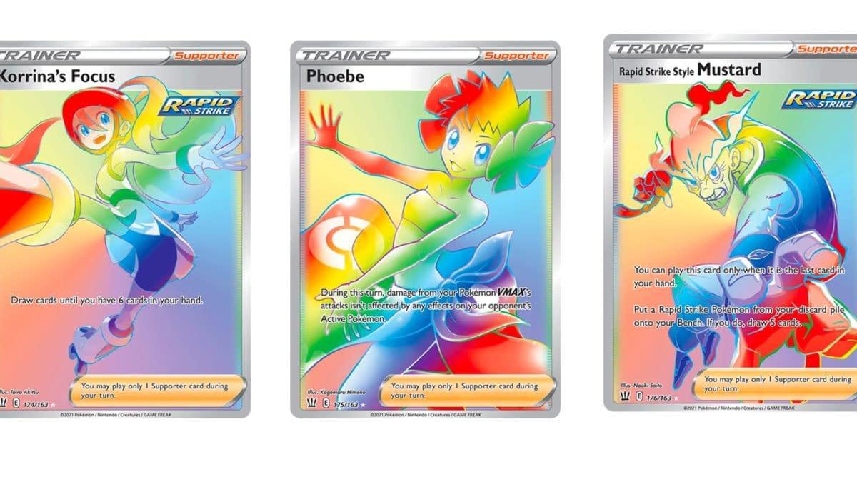 Secret Rare Cards of Pokémon TCG: Battle Styles Part 5