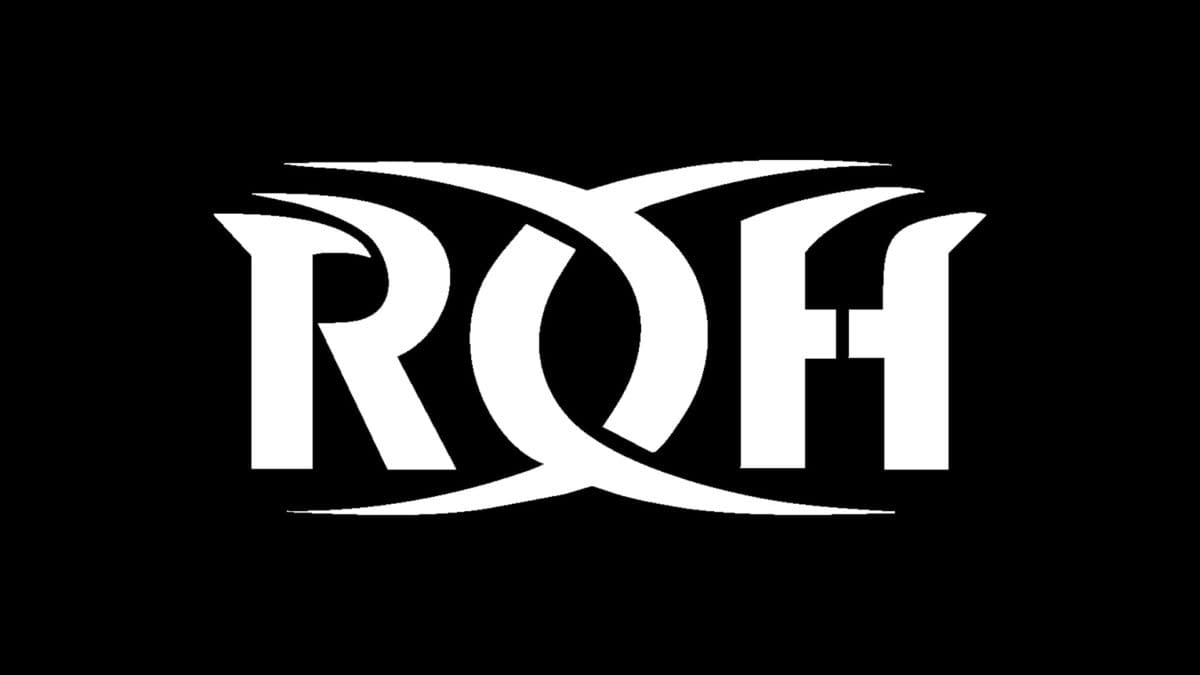 The official logo for Ring of Honor wrestling (ROH).