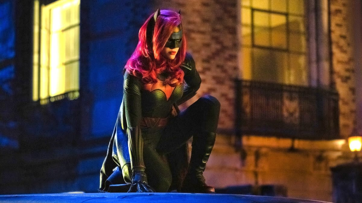 """Arrow -- """"Elseworlds, Part 2"""" -- Image Number: AR709d_0403r -- Pictured: Ruby Rose as Kate Kane/Batwoman -- Photo: Jack Rowand/The CW -- © 2018 The CW Network, LLC. All Rights Reserved."""