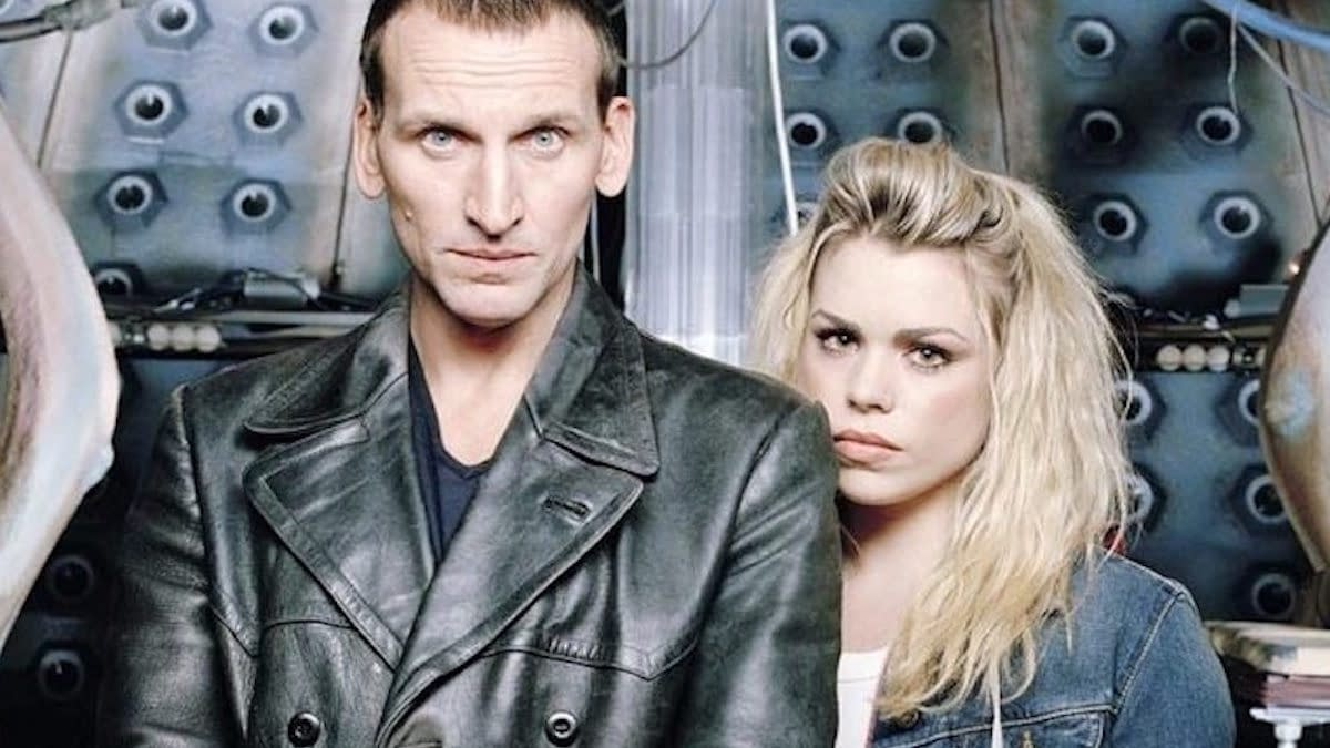 """Christopher Eccleston as the 9th Doctor in """"Doctor Who"""", BBC Studios"""