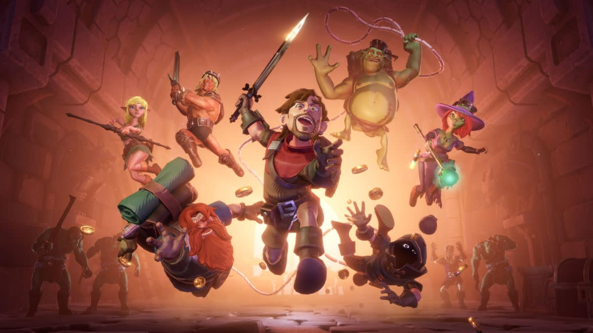 The Dungeon Of Naheulbeuk Gets A New Release Date