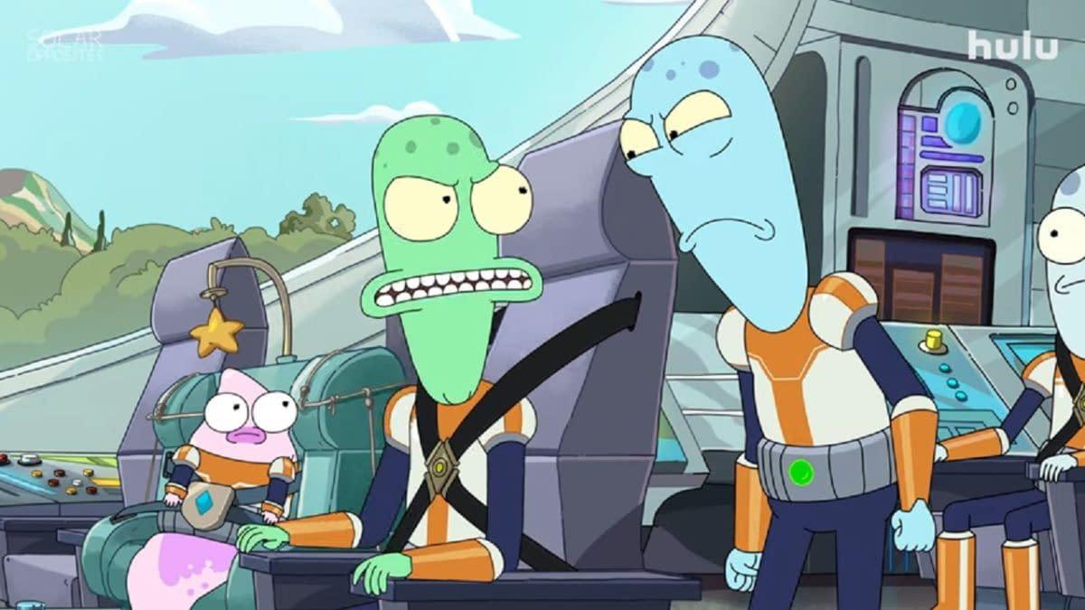 Solar Opposites season 2 arrives this March. (Image: Hulu screencap)