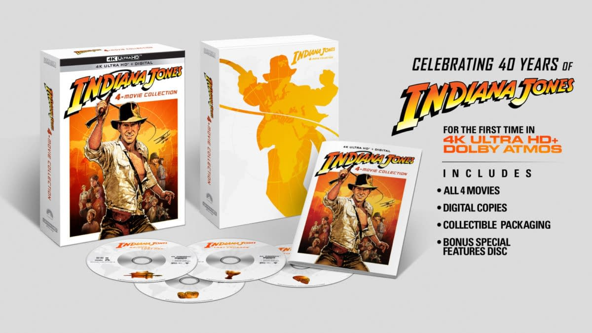 Indiana Jones Comes To 4K Blu-ray On June 8th