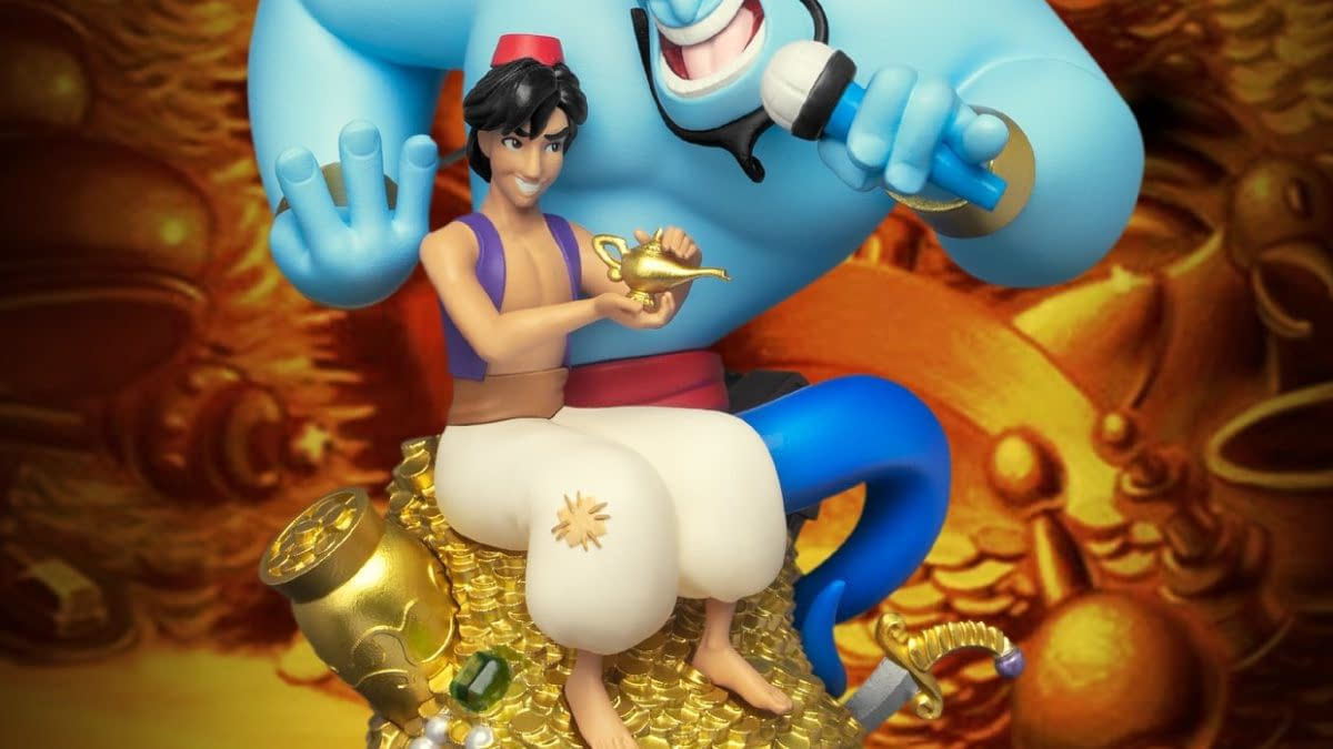 Beast Kingdom Reveals New Magical Disney D-Stage Statues