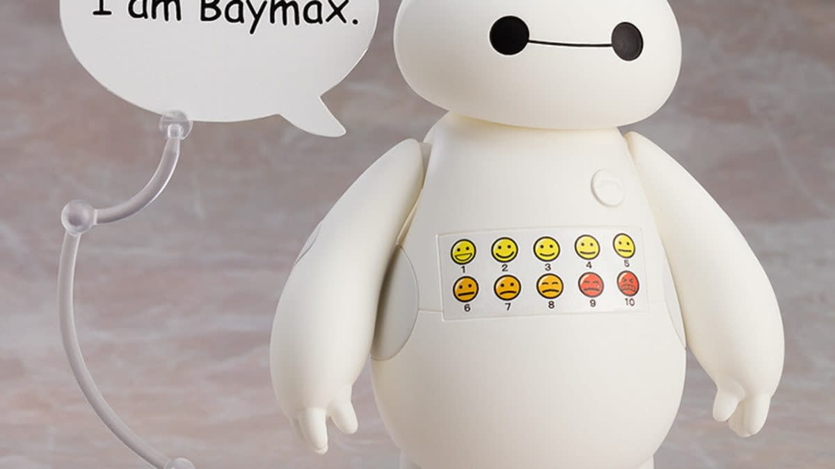 Big Hero 6 Baymax Wants to Help With New Good Smile Company Figure