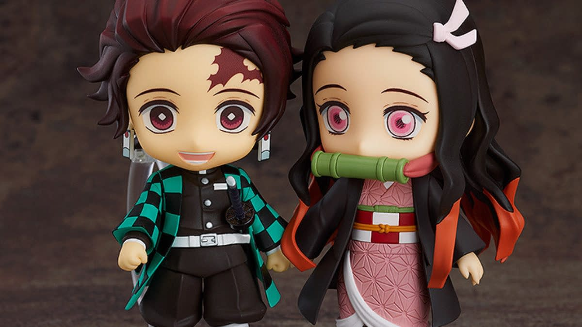 Demon Slayer Nendoroid Re-Releases Include Nesuko and Zenitsu