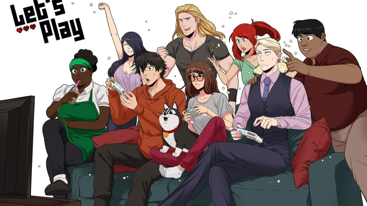 Leeanne M. Krecic's Let's Play Webtoon Comic Now Live-Action TV Show