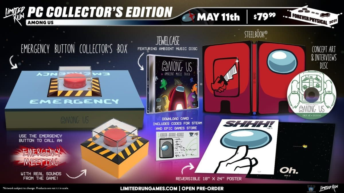 Limited Run Games To Release Among Us Collector's Edition For PC